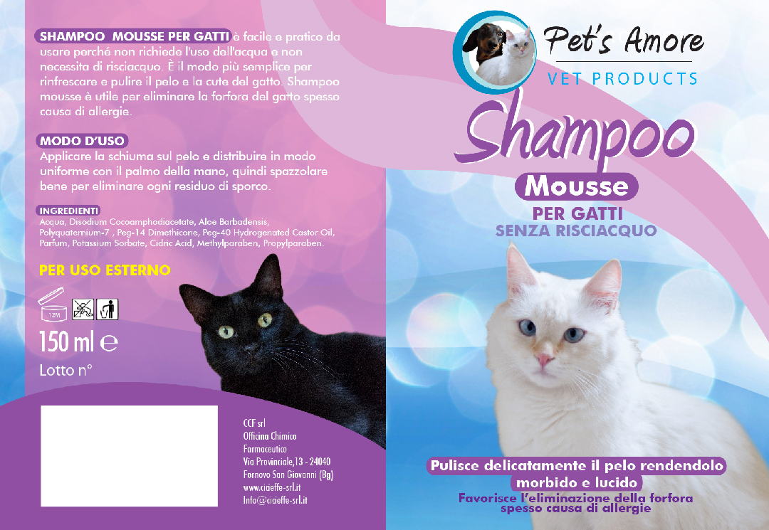 ShampooMusseGatti